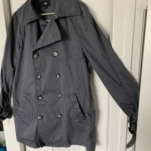 H&M trench jacket- dry cleaned included